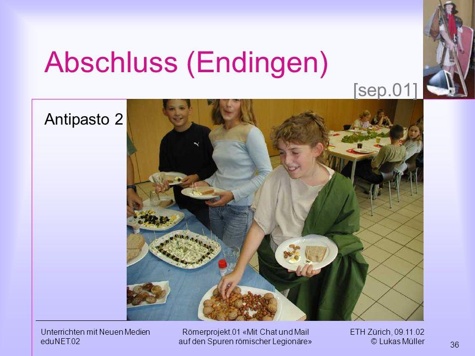 Abschluss (Endingen) [sep.01] Antipasto 2